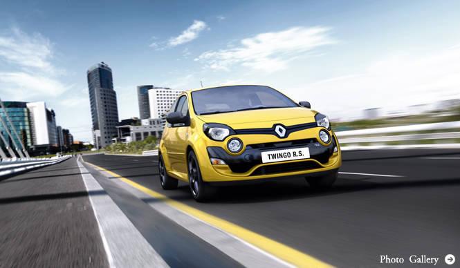 ルノー トゥインゴにRSとゴルディーニRSが登場! Renault