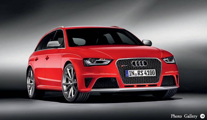 アウディ RS4 アバント ついに発表|Audi