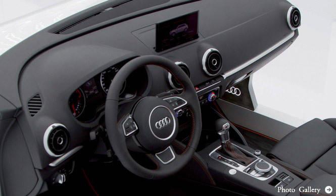 アウディ、新型A3に新しい情報技術の導入を発表|Audi