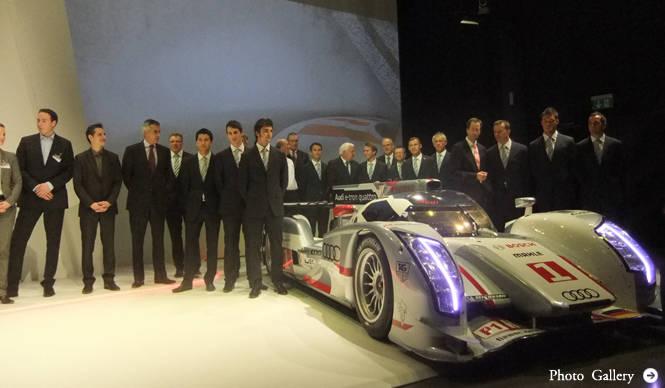 アウディ R18 e-tronでル・マン出走|Audi