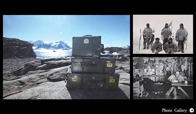 GLOBE-TROTTER|南極点到達を果たした「EXPEDITION」コレクション
