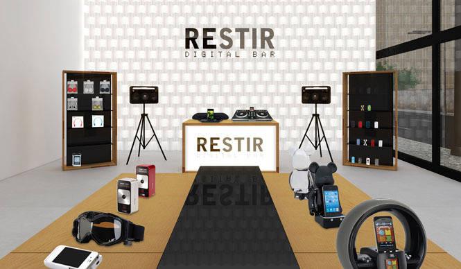 RESTIR|『RESTIR DIGITAL BAR』大阪梅田阪急メンズ館オープン