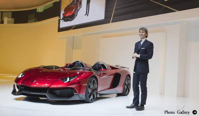 ランボルギーニ アヴェンタドール J 披露|Lamborghini