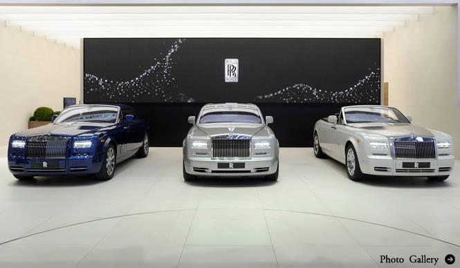 ファントム・シリーズII、ジュネーブでデビュー|Rolls-Royce