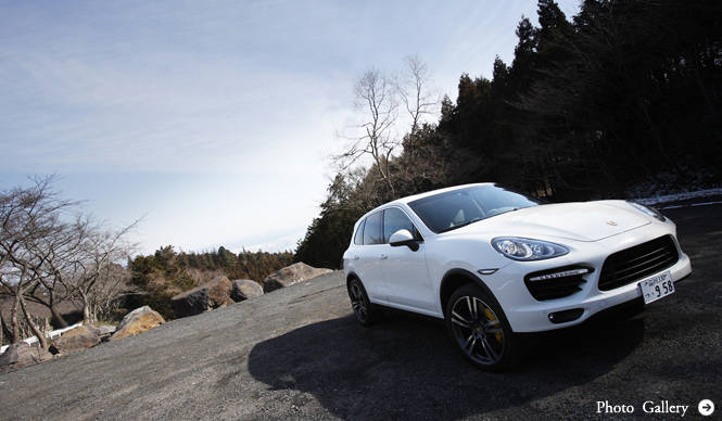 PORSCHE Cayenne turbo|SUV最強のパフォーマンス