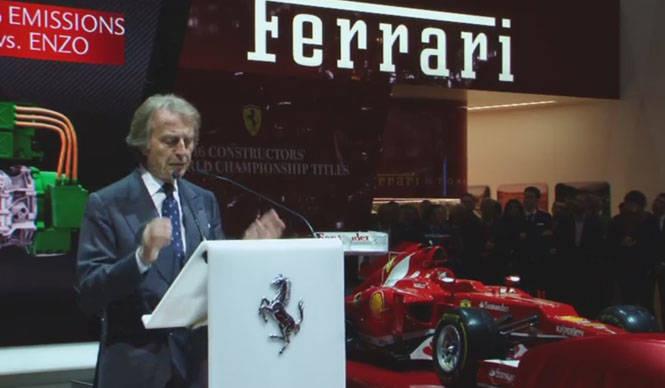 ジュネーブ現地リポート Ferrari