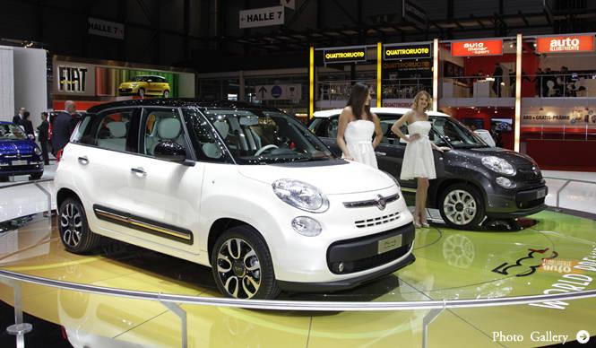 ジュネーブ現地リポート Fiat