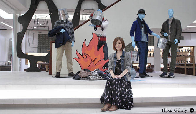 BARNEYS NEW YORK|『バーニーズ ニューヨーク銀座店』の看板娘、加藤弥生さん