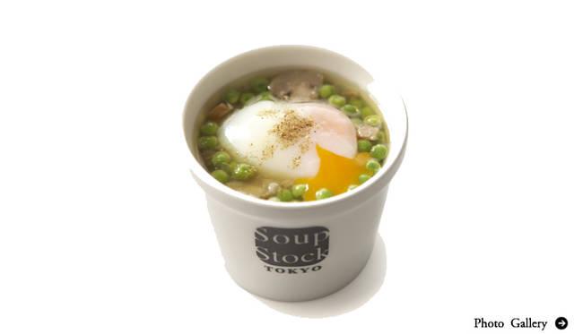 EAT フランス仕込みのスープで復興支援! Soup Stock Tokyo