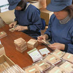 FRONTIER JAPAN 間伐材環境グッズを製作する宮城県南三陸工場設立