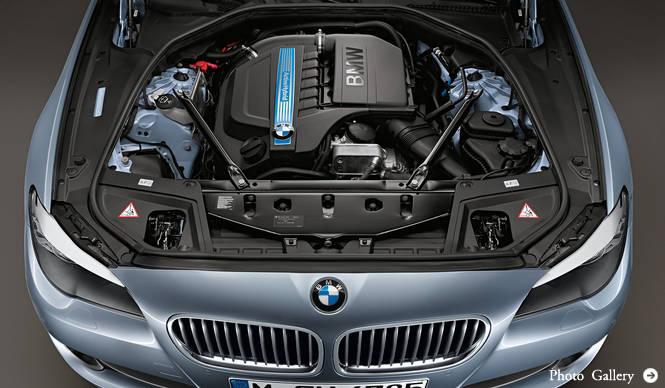 5シリーズにハイブリッド登場|BMW