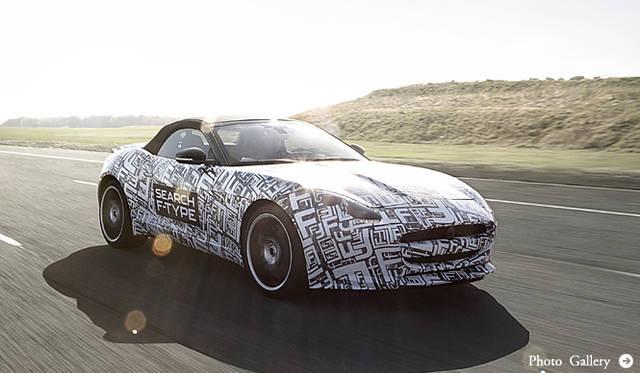 ジャガー、2シータースポーツ「Fタイプ」を発表|Jaguar