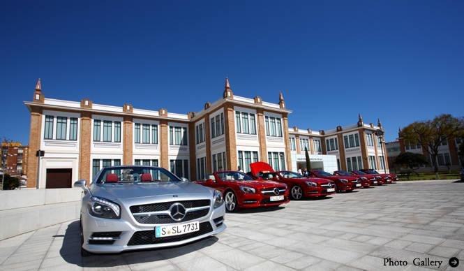 6代目SLクラス 海外試乗 |Mecedes-Benz