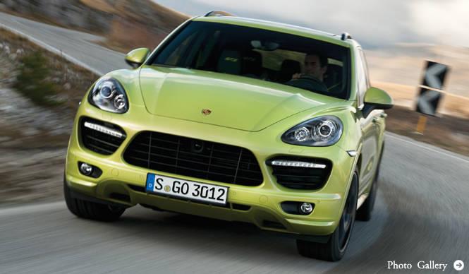 カイエンに、420馬力の「GTS」が登場|Porsche