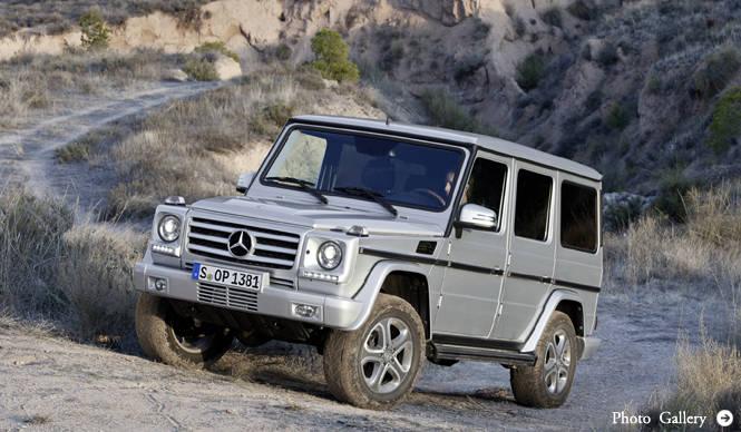 メルセデス・ベンツGクラスがマイナーチェンジ|Mecedes-Benz