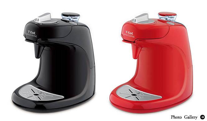 T-fal|1杯抽出タイプのレギュラーコーヒーメーカー「ダイレクトサーブ」