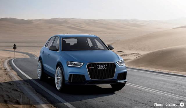 アウディ「RS Q3コンセプト」を発表|Audi
