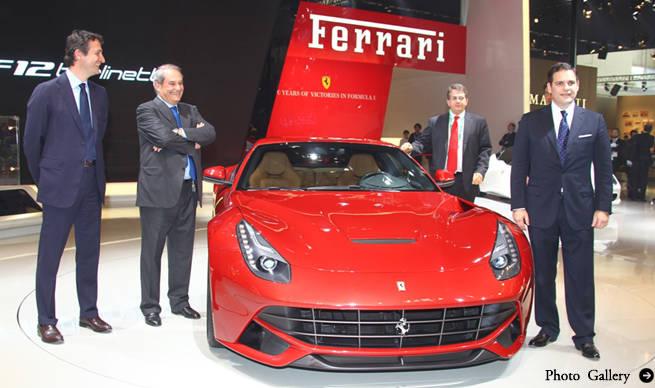フェラーリのハイブリッドシステム「HY-KERS」を発表 Ferrari