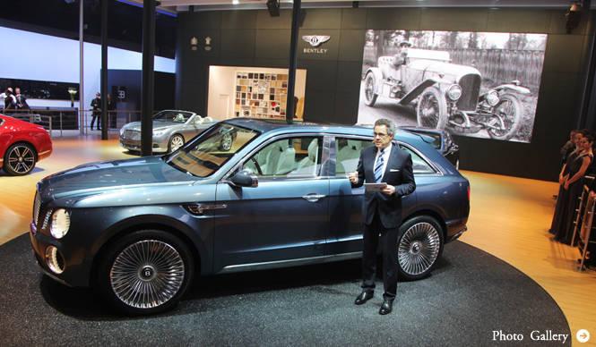 ベントレーEXP 9 Fのエンジンとインテリアを公開|Bentley