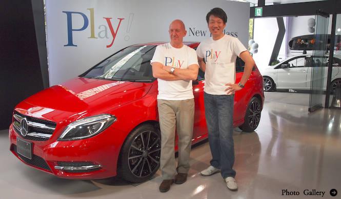 新型「Bクラス」日本発売|Mercedes-Benz
