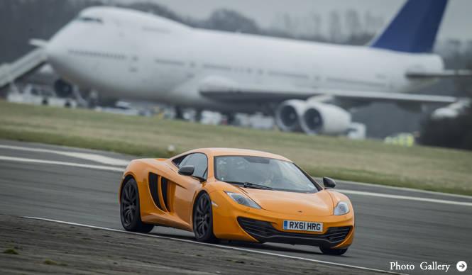 マクラーレンMP4-12Cに試乗 McLaren