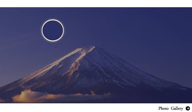 EVENT|富士山の山頂で「金環日食」を臨む|Panasonic