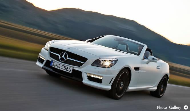 SLK 55 AMG、日本発売|Mercedes-Benz