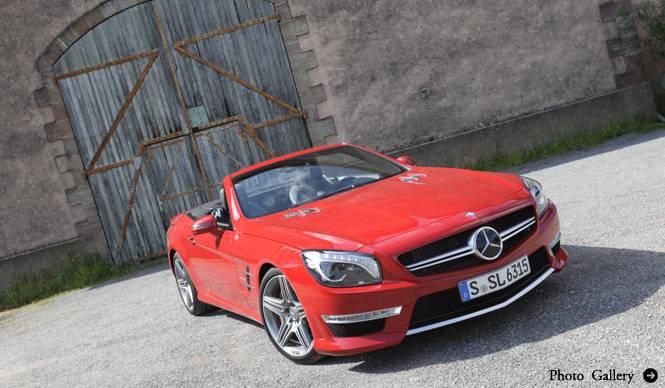 ラグジュアリーモンスターマシン―試乗、SL63AMG|Mercedes-Benz