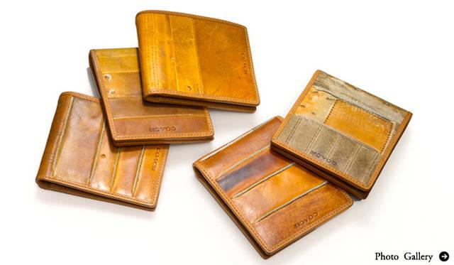 COACH│思い出のグローブを世界でひとつだけの財布にリメイク