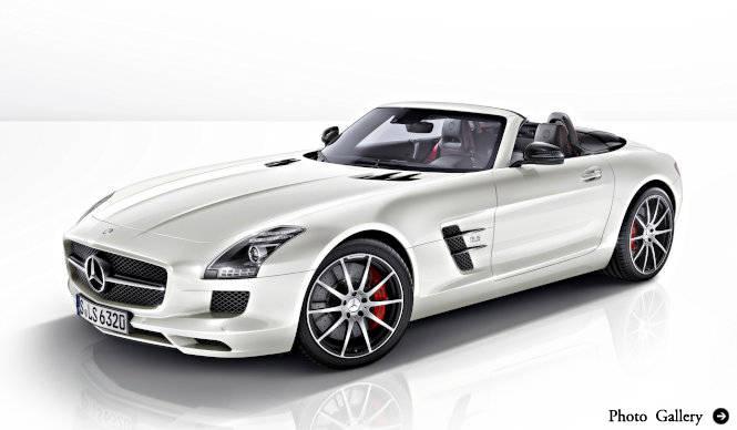 SLS AMGがビッグマイナーチェンジ   Mercedes Benz