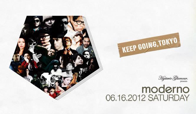 EVENT   唯一無二の空間『moderno~Keep Going, Tokyo~』