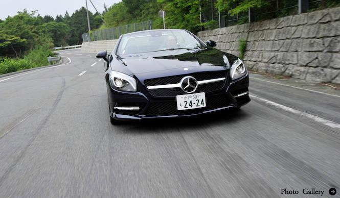 新型SLに国内で試乗|Mercedes-Benz
