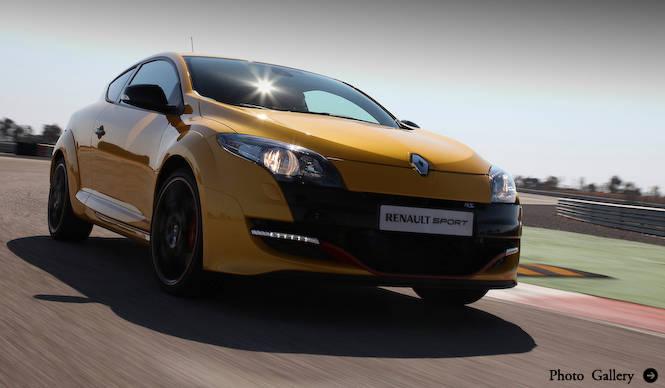 メガーヌ ルノー・スポールがマイナーチェンジ|Renault