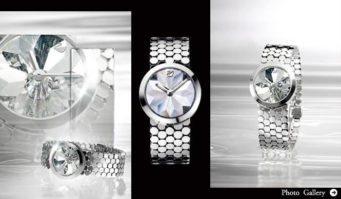 SWAROVSKI│吉岡徳仁デザインによるスペシャルモデル「Lake of Shimmer-AVANT Time Nº 3 」