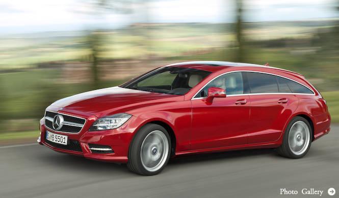 CLSシューティングブレイク公開|Mercedes-Benz