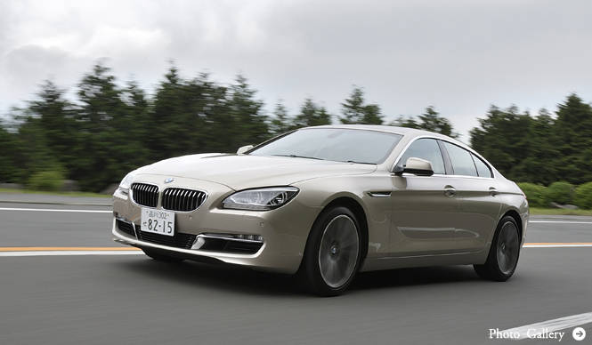 6 シリーズ グランクーペに試乗|BMW