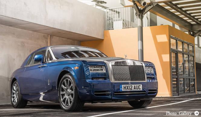 ロールス・ロイス ファントム シリーズII国内導入|Rolls-Royce