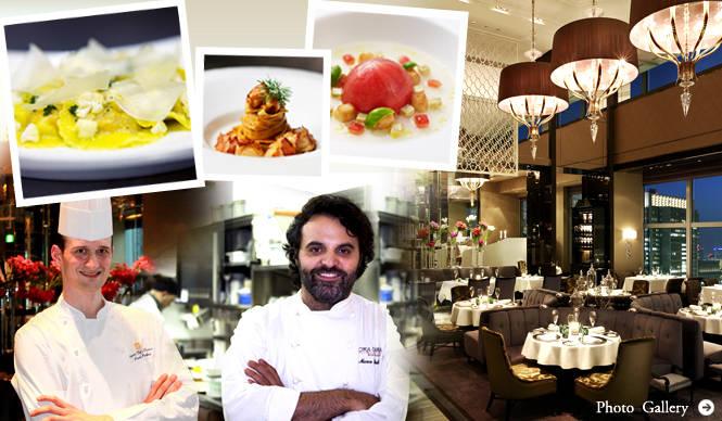 EAT|2人のシェフによるモダン・トスカーナ料理の競演