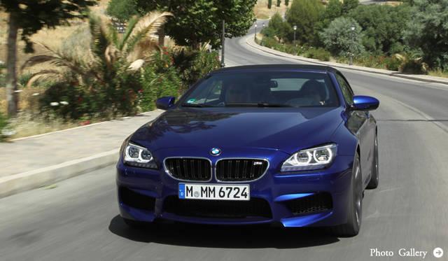 現代化した6シリーズの最高性能モデル BMW M6に試乗|BMW
