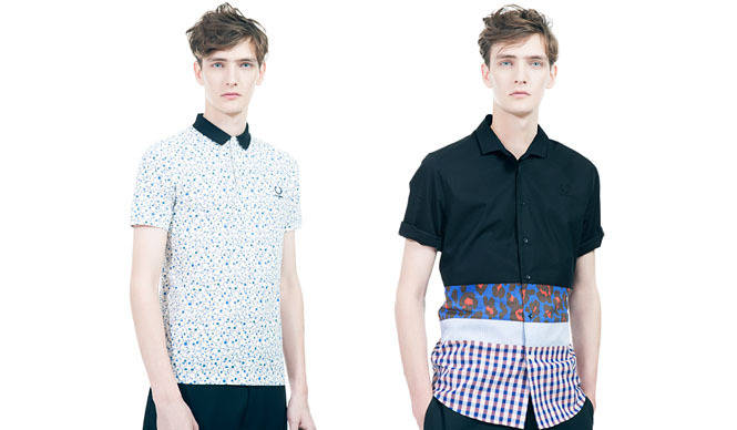 "FRED PERRY|2013年春夏""Raf Simons×Fred Perry""コレクション発表"