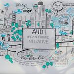 アウディは未来の都市へ向かう Audi