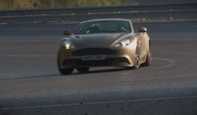 ヴァンキッシュのロードテストを公開|Aston Martin