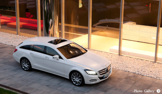 CLS シューティングブレイク 欧州での発売日が決定|Mecedes-Benz