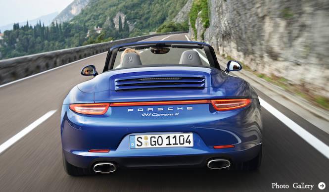ポルシェ 911カレラ4、カレラ4Sの予約開始 Porsche