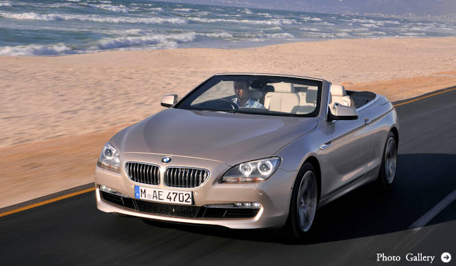 BMW 650iに新開発V型8気筒エンジンを搭載|BMW