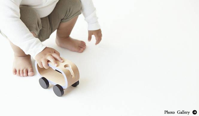 酒井産業|柴田文江がデザインする子ども向け木製品ブランド「buchi」