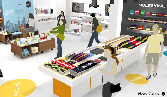 MOLESKINE、pijama、Chronicle Books|人気の3ブランドが揃うショップインショップが登場!