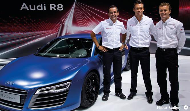 アウディR8が進化してモスクワモーターショーに登場|Audi