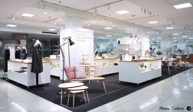 MARGARET HOWELL|松屋銀座店7階に「MARGARET HOWELL HOUSEHOLD GOODS」オープン