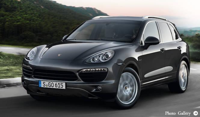 V8ツインターボディーゼルの「カイエンS」発表|Porsche